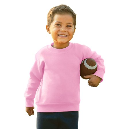 Rabbit Skins Toddler's Crew Neck Fleece Sweatshirt