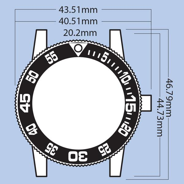 Tennessee Tech Eagles-Competitor Steel AnoChrome - Color Bezel - image 1 de 2