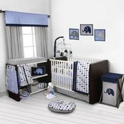 Elephants 10 Piece Crib Bedding Set