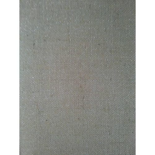 Laminated Burlap Sheets, Natural with Silver Metallic, 2 Packs