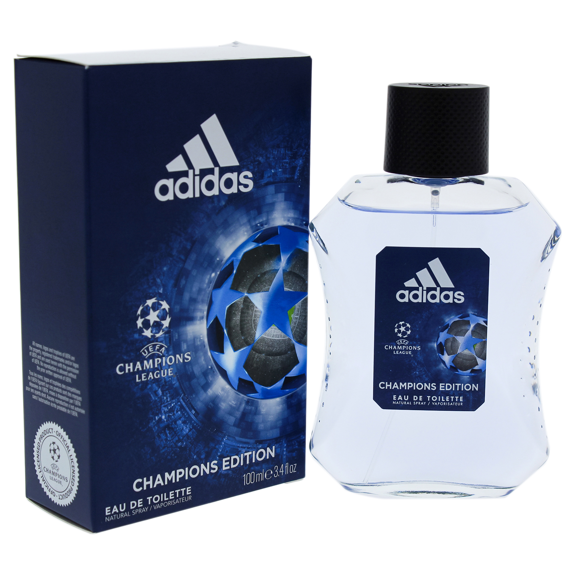 lucha paz proteger  UEFA Champions League by Adidas for Men - 3.4 oz EDT Spray (Champions  Edition) | Walmart Canada