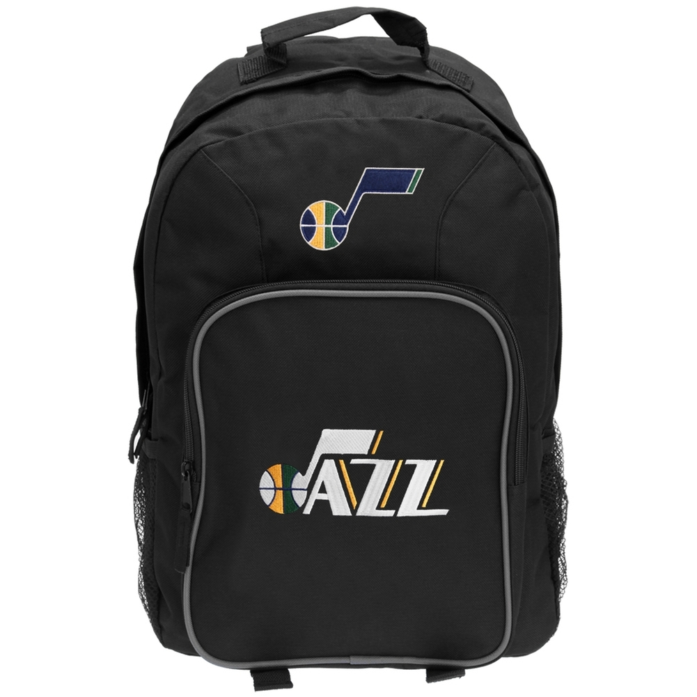 NBA Utah Jazz Black Southpaw Backpack