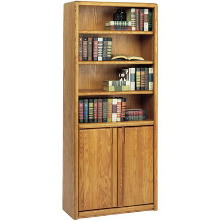 Martin Home Furnishings Contemporary Bookcase With Doors