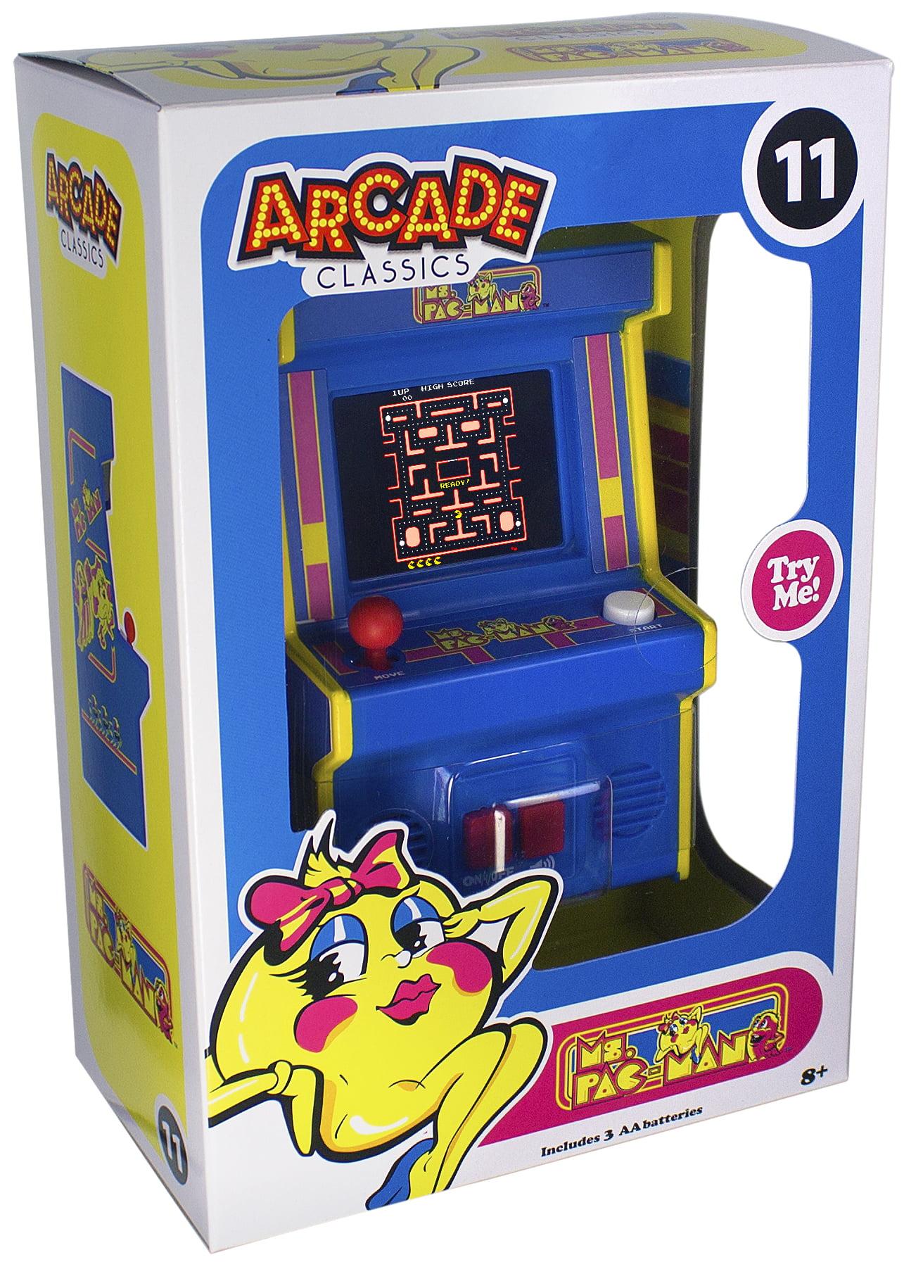 Arcade Classics – Ms Pac-Man Mini Arcade Game – Walmart