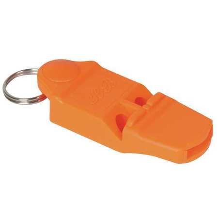 - Whistle, Horn Blast, Orange, ABS Plasti 1ZBY6