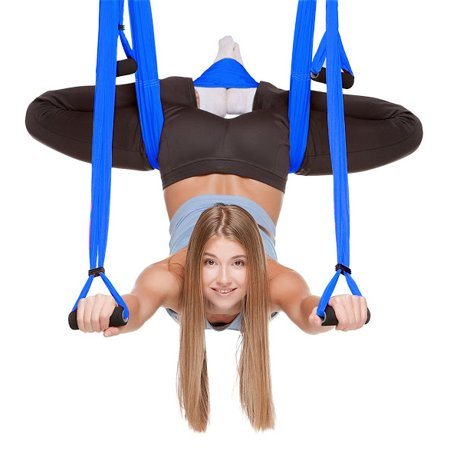 Sports & Entertainment 2 Colors Optional Aerial Yoga Trapeze Swing Sling Hammock Indoor Anti Gravity Inversion Prop Tools Fitness Equipments Yoga Belts