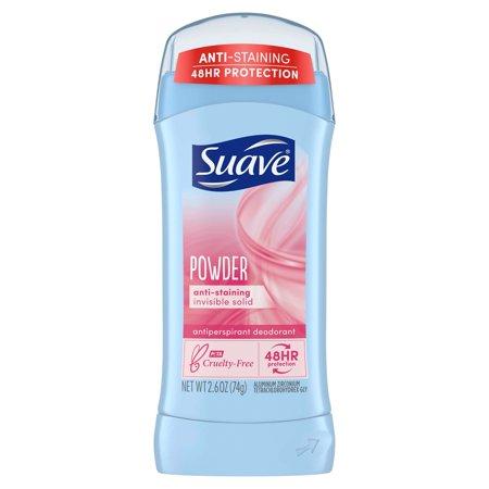 Suave Powder 24 Hour Antiperspirant & Deodorant - 2.6oz