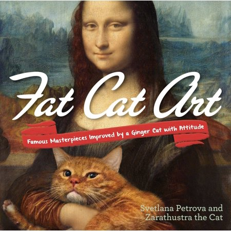 Famous Groups Of 6 For Halloween (Fat Cat Art : Famous Masterpieces Improved by a Ginger Cat with)