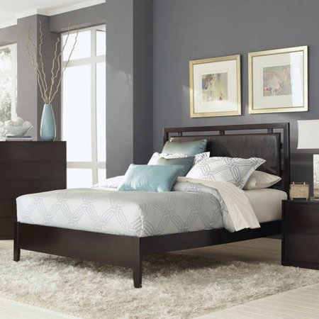 Coaster Company Hudson Collection Queen Bed, Espresso