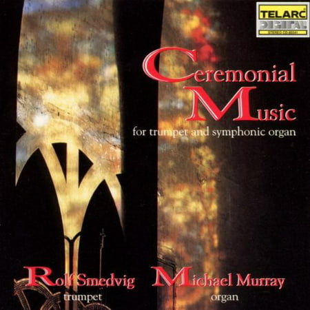 Ceremonial Music for Trumpet & Organ (CD)](Halloween Spooky Organ Music)