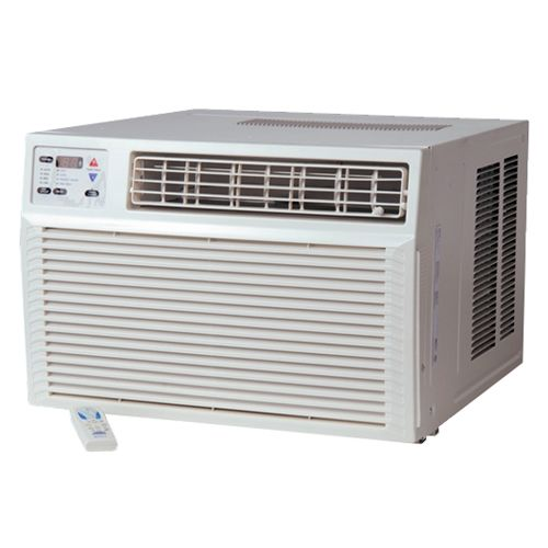 Amana AH093G35AX 9000 BTU Window Heat Pump with 10700 BTU Electric Heater and Re