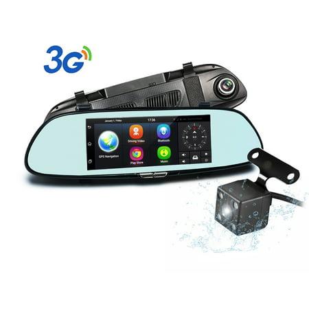 Dual Lens Car Camera Podofo 7