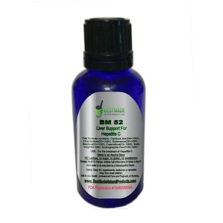 BestMade soutien du foie pour l'hépatite C BM52