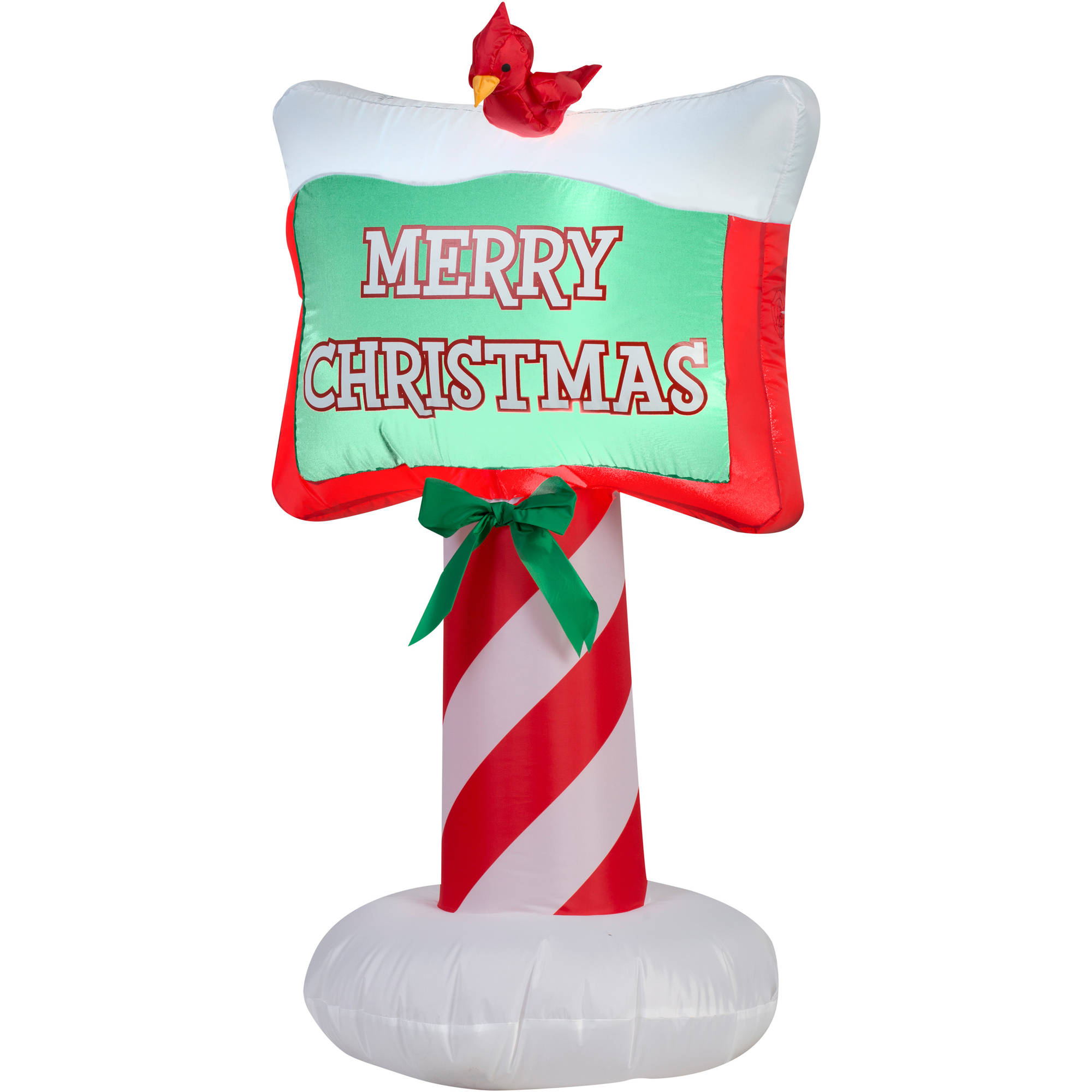 Gemmy Airblown Inflatable Merry Christmas Sign, 3.5'