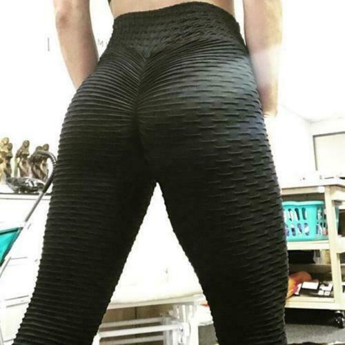 b0c8a0e7cacd0d Hirigin - Women Yoga Gym Anti-Cellulite Compression Leggings Butt Lift  Elastic Pants - Walmart.com