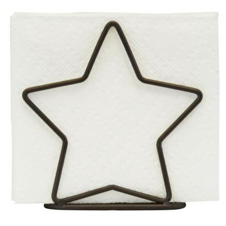 Star Napkin Holder Bronze