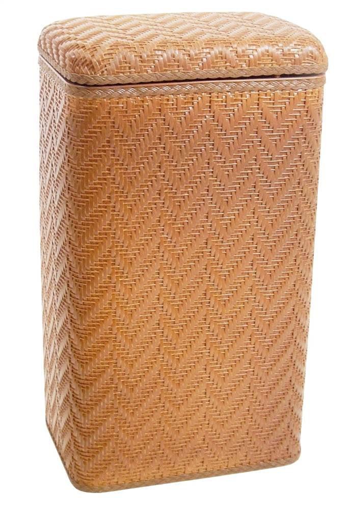 Wicker Pattern Hamper in Nutmeg by Redmon