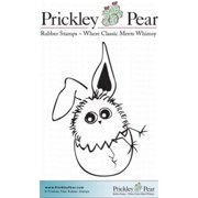 Prickley Pear Cling Stamps 2 Inch X 1.75 Inch-Potions And Spells