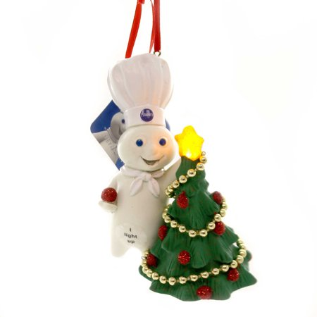 Lit Ornament (Holiday Ornaments DOUGHBOY DECORATING TREE LIT Pillsbury Department 56 6000384)