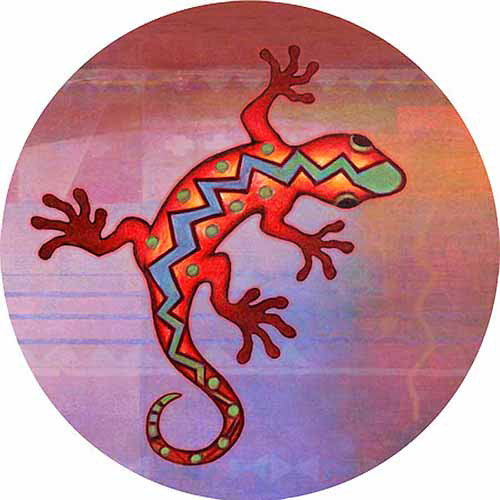 Thirstystone Drink Coasters Set, Gecko