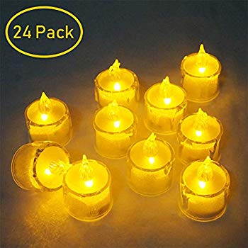 Details about  /3Pc//Lot Flameless LED Candle Battery Operated Home Decor Christmas Party Wedding