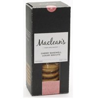 Macleans Cherry Bakewell Biscuits 150g (Pack of 3)