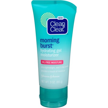 Clean   Clear Morning Burst Hydrating Oil Free Gel Moisturizer  3 Oz