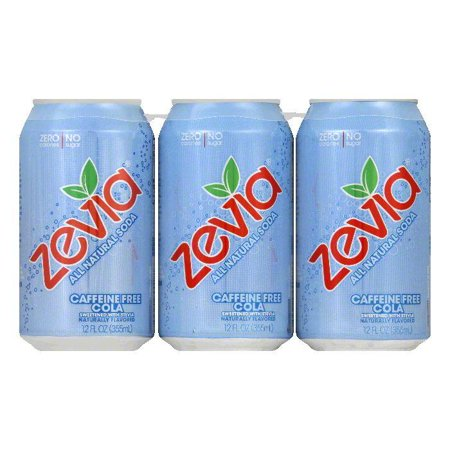 Zevia Caffeine Free Cola  72 Fo  Pack Of 4