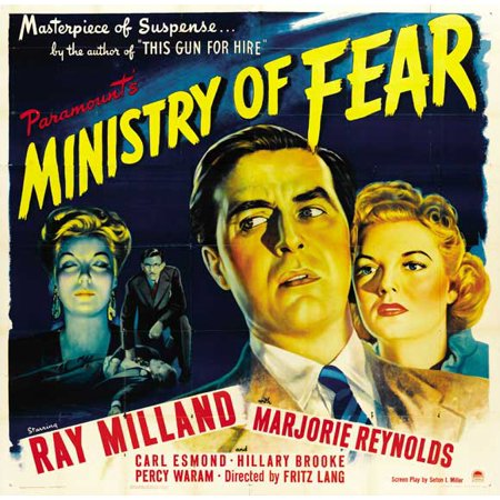 Ministry of Fear POSTER Movie B (30x30) (Ministry Halloween)
