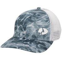 Elements Performance Mesh back Stretch Fit Fishing Cap; Spindrift Blue; Small / Medium Mossy oak