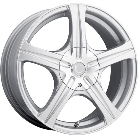 Ultra Slalom 16 Silver Wheel / Rim 5x110 & 5x115 with a 42mm Offset and a 73 Hub Bore. Partnumber 403-6610+42S