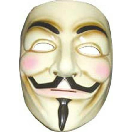 Rubies V for Vendetta Adult Mask- - V Vendetta Mask Spirit Halloween