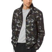 Michael Kors Men's Camouflage Jacket (Camo Green, Large)