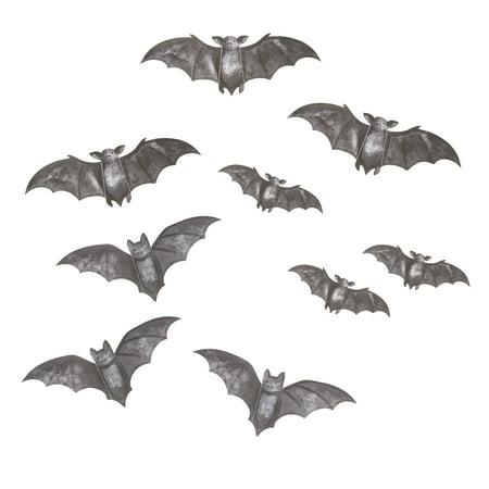 Darice Martha Stewart Crafts Paper Silhouettes Bats - Martha Stewart Halloween Hanging Bats
