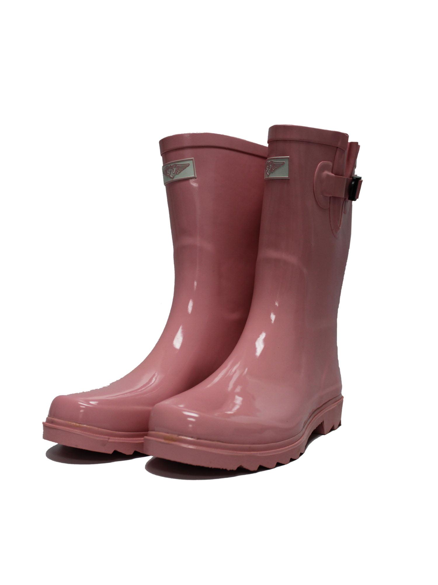 Slip Resistant Rubber Women Rain Boots