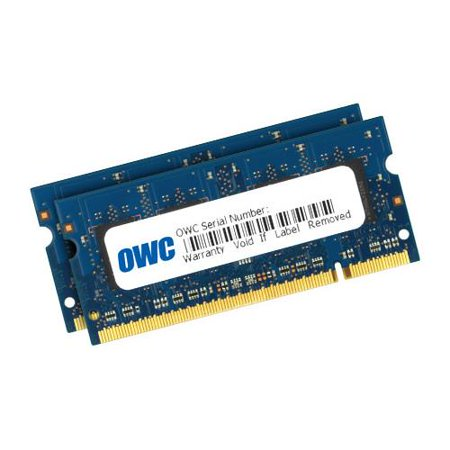 OWC / Other World Computing 4GB (2x 2GB) 800MHz 200-Pin SO-DIMM DDR2 SDRAM (PC2-6400) Memory Upgrade Kit (Major) for MacBook, iMac and PC
