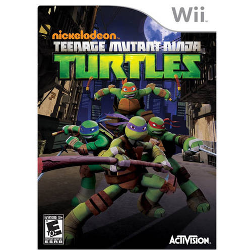 Teenage Mutant Ninja Turtle (Wii) - Pre-Owned