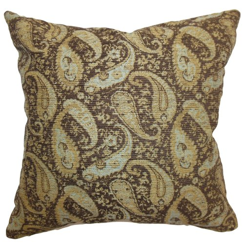 The Pillow Collection Aeldra Paisley Throw Pillow