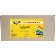 School Smart Colored Pencils Classpack, 144 Count
