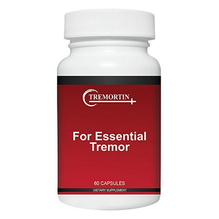 Tremortin – Best Natural Aid for Essential Tremor - Provides Relief for Shaky Hands, Arm, Leg, & Voice