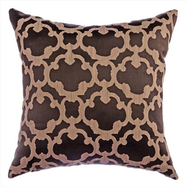 Softline Kingdom Tile Decorative Pillow - Designer Brown, Pack Of 2
