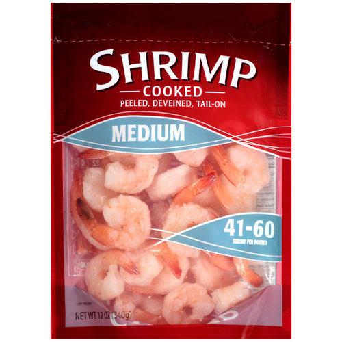 Medium Cooked Shrimp, 12 oz