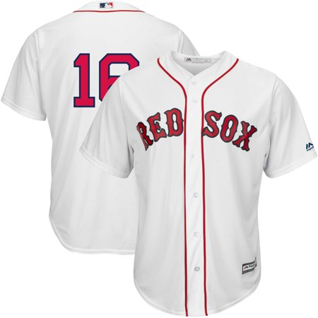 c969e46a0 Andrew Benintendi Boston Red Sox Majestic Home Official Cool Base Replica Player  Jersey - White - Walmart.com