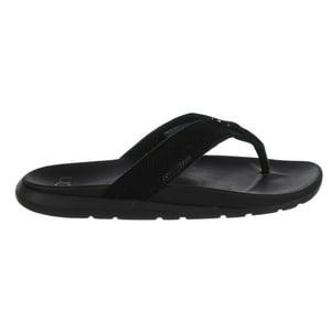 UGG Australia Tenoch Hyperweave Flip-Flop - Black - Mens - 10
