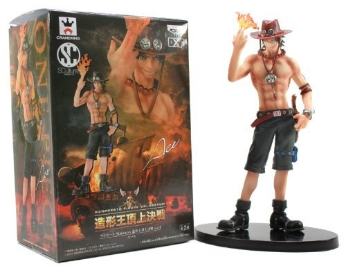 Banpresto Boys One Piece Artist Life Portgas D Ace Action Figure 1