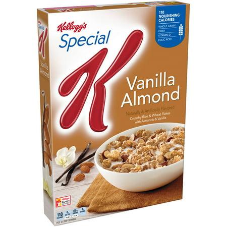 Kellogg's Special K Breakfast Cereal, Vanilla Almond, 12.4 Oz