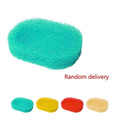 3 Pack Sponge Soap Dish Box Shower Hotel Holders Bathroom Kitchen