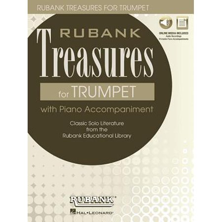 Rubank Treasures for Trumpet : Book with Online Audio (Stream or Download)