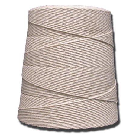 T.W . Evans Cordage 06-030 3 Poly 100-Percent Cotton Twine Cone, 12900-Feet