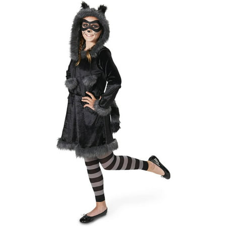 Raccoon Teen Halloween Costume for $<!---->